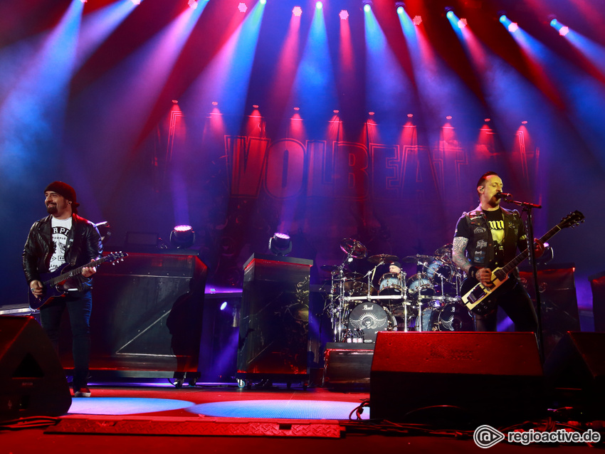 Volbeat live bei Rock am Ring, 2016