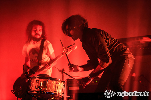 Explosiver Sound - Fotos: Explosions In The Sky live auf dem Maifeld Derby 2016 in Mannheim