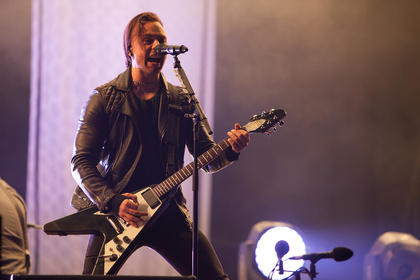 Gitarreneskalation - Fotos: Bullet For My Valentine live bei Rock am Ring 2016 in Mendig