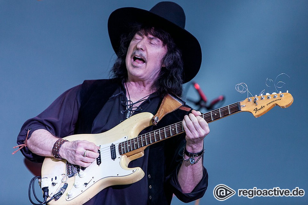 Faszinierend - Fotos: Ritchie Blackmore's Rainbow live bei Monsters Of Rock in Bietigheim