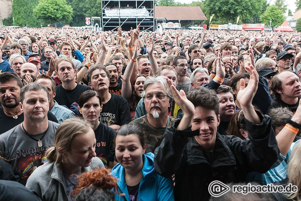 Tausendfach - Fotos: Impressionen von Monsters of Rock mit Rainbow live in Bietigheim