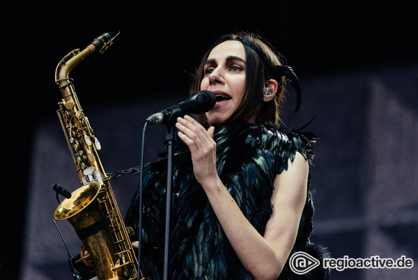 Extravagant - Fotos: PJ Harvey live in der Zitadelle Spandau in Berlin